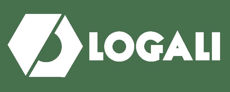 LOGALI HORIZONTAL NEGRO BLANCO PNG