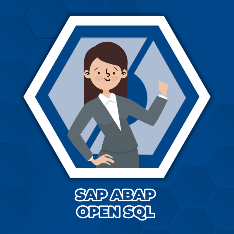 SAP ABAP OPEN SQL
