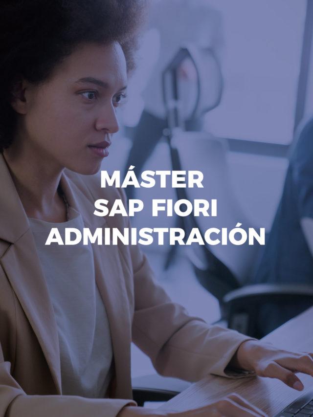 Máster SAP FIORI administración